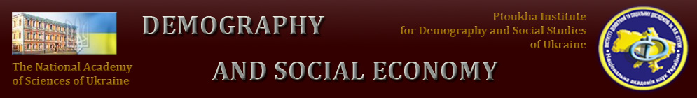 Demography and social economy
